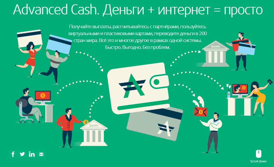 AdvCash (АдвКэш) - платежная система Advanced Cash